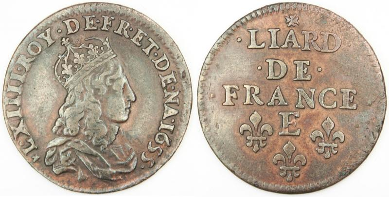 Name:  Liard-Louis-XIV-1655-E-croix.jpg